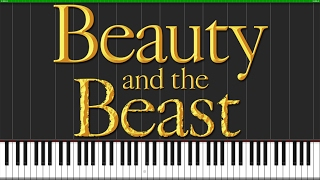 Tale As Old As Time - Beauty and the Beast [Piano Tutorial] (Synthesia) // Wouter van Wijhe