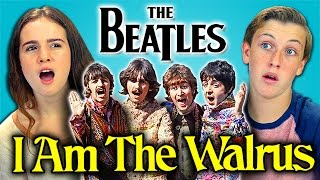 LYRIC BREAKDOWN - THE BEATLES - I AM THE WALRUS (REACT)