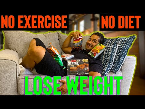 How to lose weight with NO DIET and NO EXERCISE