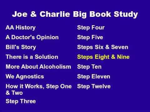 Joe & Charlie Big Book Study Part 12 Of 15 - Steps Eight And Nine