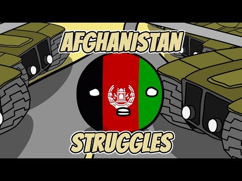 Romania jokes and Afghanistan struggles - Countryballs