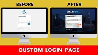 [FREE] How to Customize Wordpress Login Page 2020 | Easy & Simple way | Wordpress Beginner Tutorial