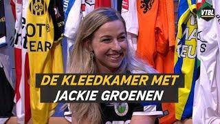 VTBL gemist? Bekijk hier het kleedkamer interview met Jackie Groenen