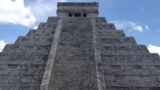 Chichen Itza Echo Clap - Produces sounds like that of the Quetzal, a bird native to South America
