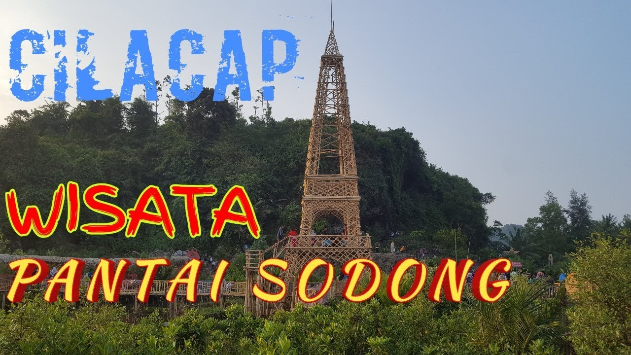 Pantai Sodong Cilacap Jawa Tengah Youtube