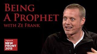 Ze Frank of Buzzfeed: Being a Prophet - DigitasLBi NewFront 2015