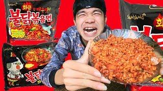 PHD | Mì Lắc Samyang Full Cấp Độ | Spicy Noodles