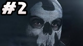 Call of Duty Ghosts Gameplay Walkthrough Part 2 - Single Player Campaign Story Mode Gameplay
