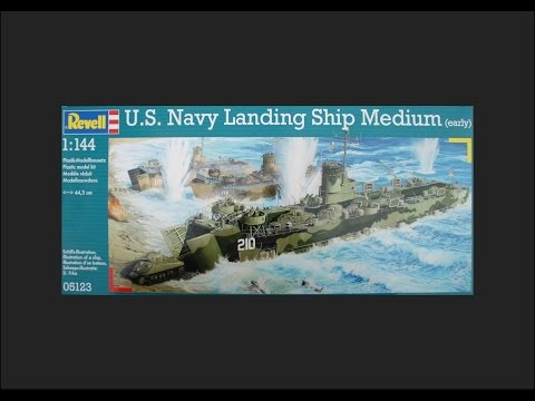 Revell 1/144 US Navy Landing Ship