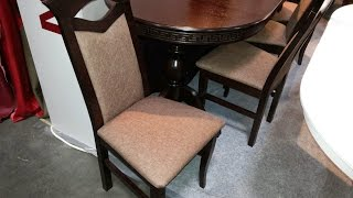 Кухонные стулья - купить кухонный стул в Украине. Стул обеденный Милан, темный орех.(, 2016-07-04T09:32:18.000Z)