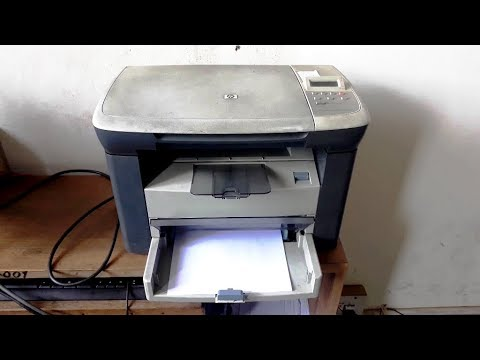 How To Download & Install HP Laserjet M1005 MFP Printer Driver Configure It And Scanning Documents