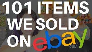 101 ITEMS WE SOLD ON EBAY IN 2017 + Thrift Haul + Yard Sales = BEST RESELLER VLOG EVER | 2018