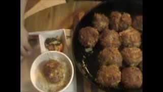 Asuka Lynn's Korean Meatballs