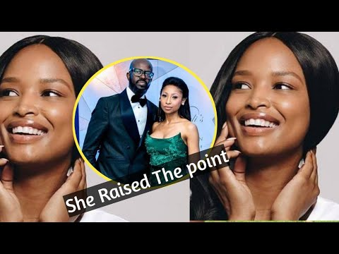 Download Ayanda Thabethe reacts on Dj black Coffe's kicking his wife and kids out