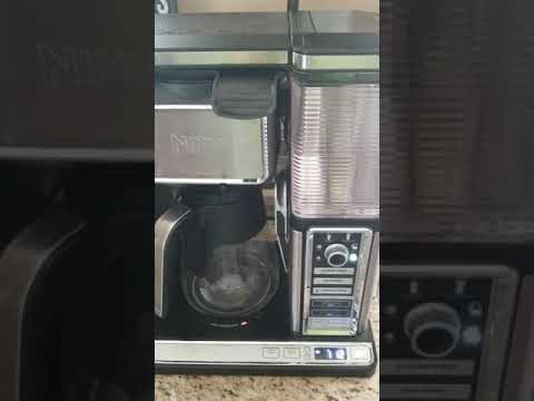 Ninja coffee maker problem part 3