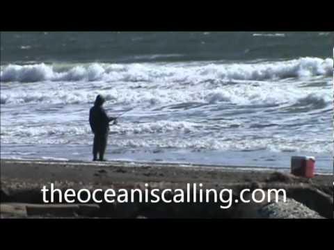 Perch fishing at Ocean Shores, WA