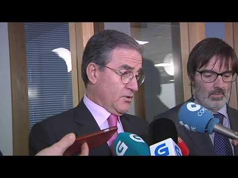 El presidente del TSXG visita los juzgados de Ourense