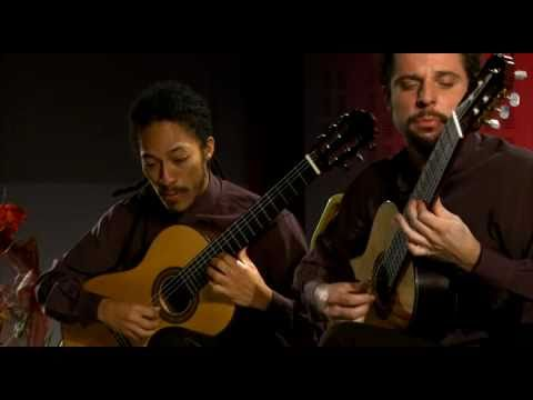 Brasil Guitar Duo plays Triptych op. 69 by Gerard Drozd
