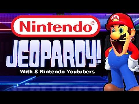 NINTENDO JEOPARDY with Nintendo Youtubers! (play along)