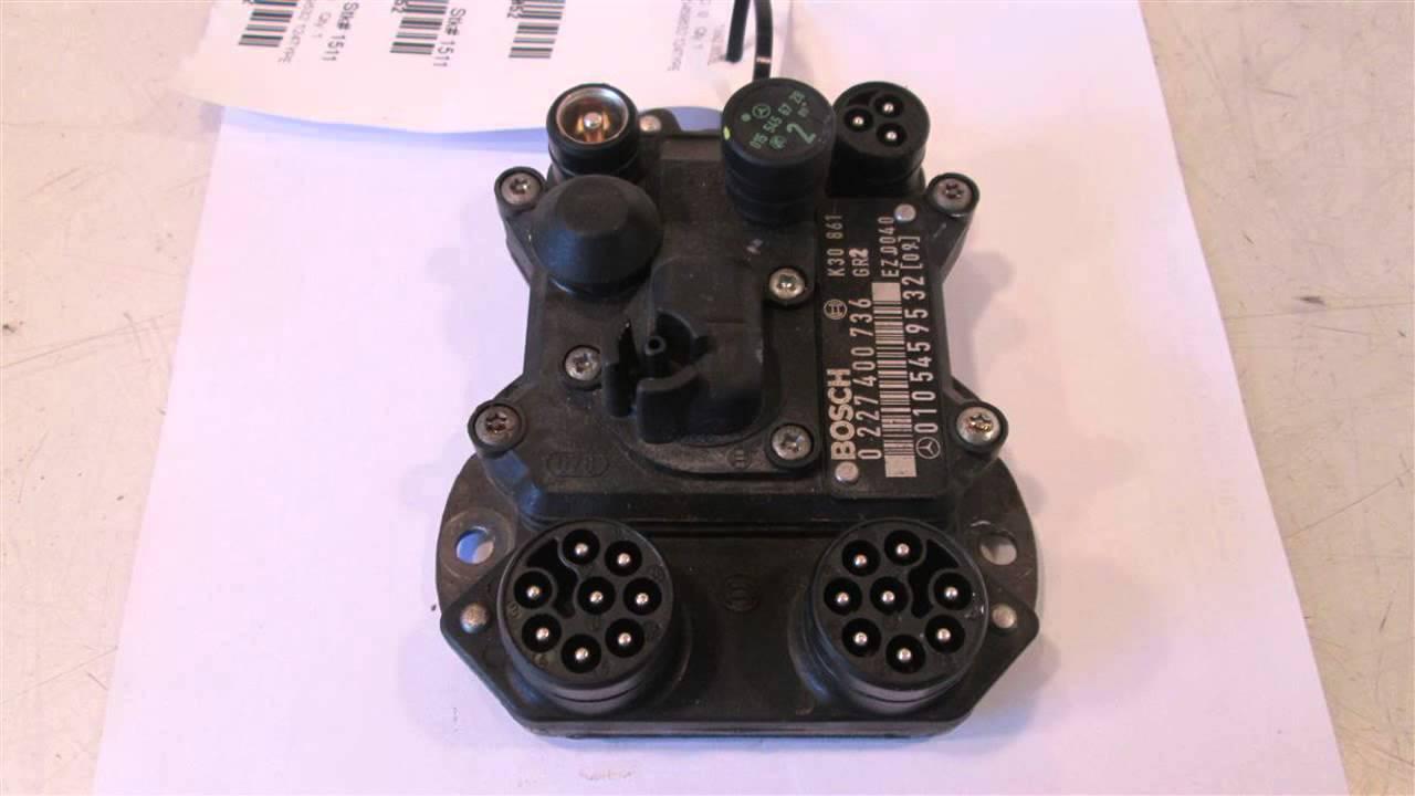 1992 Mercedes 300sl Engine Ecu Control    Computer Ignition