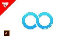 Membuat Logo Infinite di Adobe Illustrator