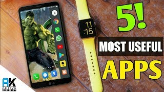 Top 5 Most Useful Apps For Android | Under 5 Mb | Aditya Knight