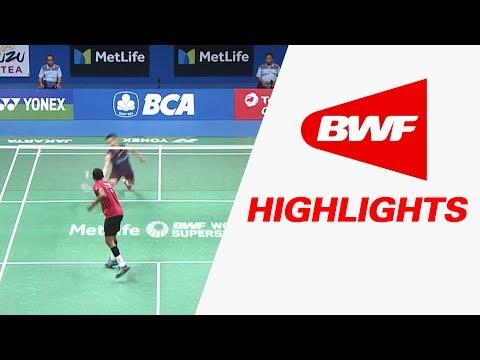 BCA Indonesia Open 2017 | Badminton R16 – Highlights