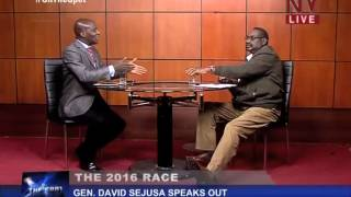 On The Spot: Gen: David Sejusa talks about the political atmosphere ahead of 2016 elections