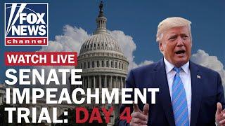 Trump impeachment defense to present arguments | Day 4
