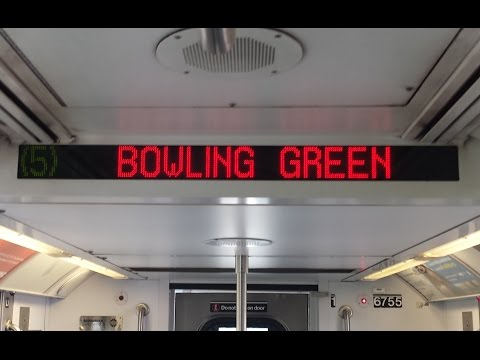 On Board Bowling Green Bound R142 (5) Train From 125th Stree