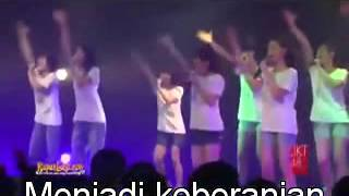 JKT48 Suifu Wa Arashi Ni Yume Wo Miru With Lyrics