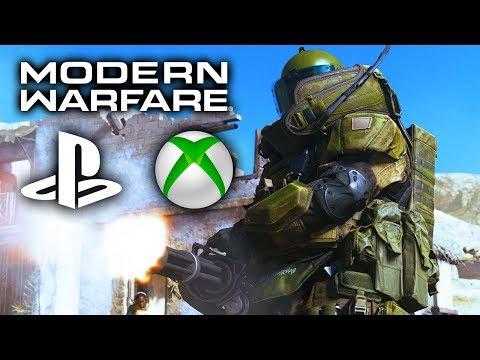 MODERN WARFARE CROSSPLAY FULL DETAILS! - PS4, Xbox One & PC