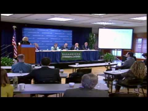 Panel discussion -  Georgetown Environmental Law Review Symposium