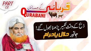 Qurbani Kay Masail By Maulana Ilyas Qadri   Zibah karne ki Takbeer  Janwar Halal Ya Haram   Eid 2020