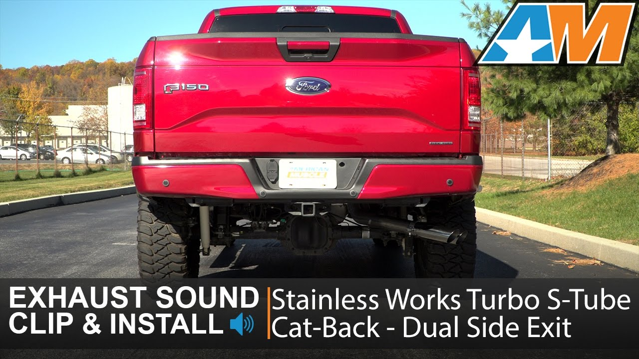 2015-2016 F-150 Stainless Works Turbo S-Tube Cat-Back ...