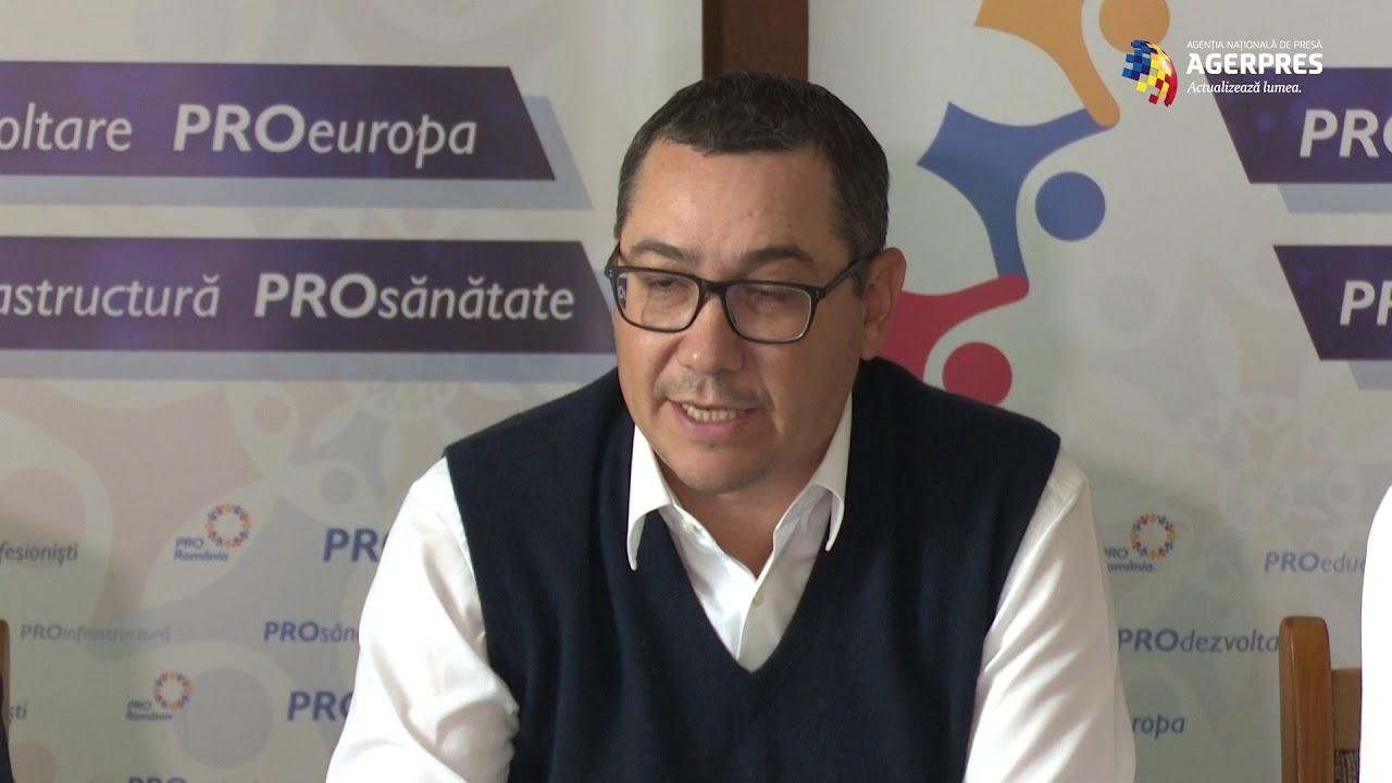 Ponta: Sper ca în locul lui Negrescu să fie pus cineva care să ştie să spună 'Hello!'