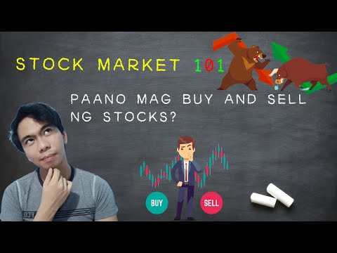 Tutorial: Step By Step How To Buy And Sell Stocks (Tagalog)