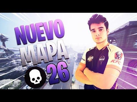 ¡HAGO 26 KILLS en el *NUEVO* MAPA NEVADO de FORTNITE!