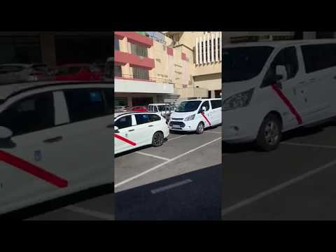 Taxi Madrid Espagna 🇪🇸🚕