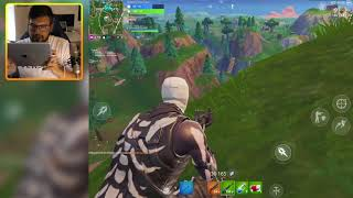 SOARING 50s & New MOTION CONTROL GAMEPLAY - Fortnite IOS/Android Gameplay #37