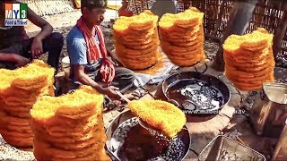Crunchy Noodles Made From Chickpea Flour Paste | Sev | Street Food