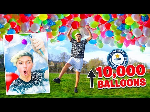 BREAKING The Most WORLD RECORDS In 24 HOURS - Challenge