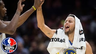 Stephen Curry goes off (42 points, 9 rebounds, 7 assists) in Warriors vs. Cavs | NBA Highlights
