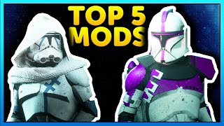 TOP 5 MODS OF THE WEEK of Star Wars Battlefront 2 Episode 27. This ...