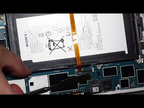 Xperia Z3 Tablet Compact起動しない&バッテリー電池修理