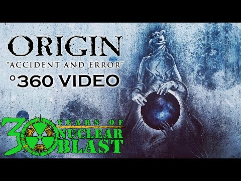 ORIGIN - Accident and Error (OFFICIAL 360 VISUALIZER VIDEO)