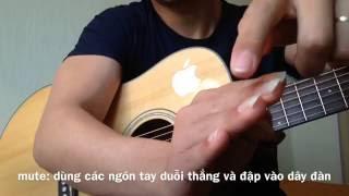 Hướng dẫn guitar điệu disco bằng kĩ thuật finger style