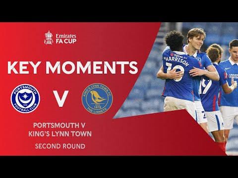 Portsmouth King's Lynn Goals And Highlights