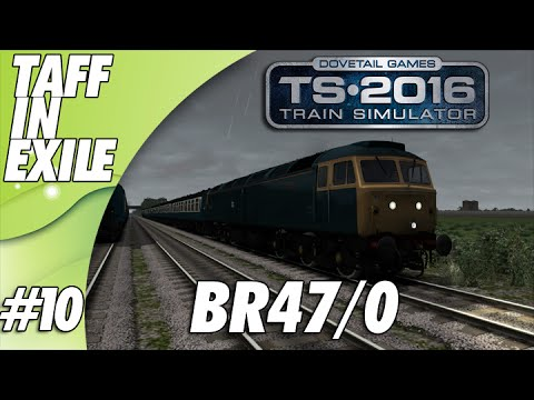 Train Simulator 2016 - E10 - BR 47/0 - Short Passenger Run up North