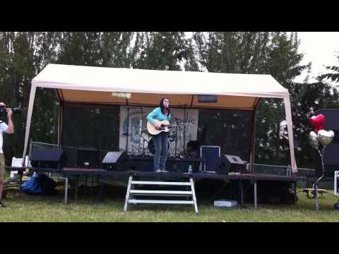 "Kate Lynne Logan - ""The River and the Rain"" live at NW Lovefest 2012"